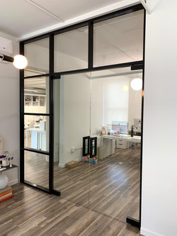 Aluminium Frame + Tempered Glass