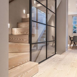 Stair Glass Wall