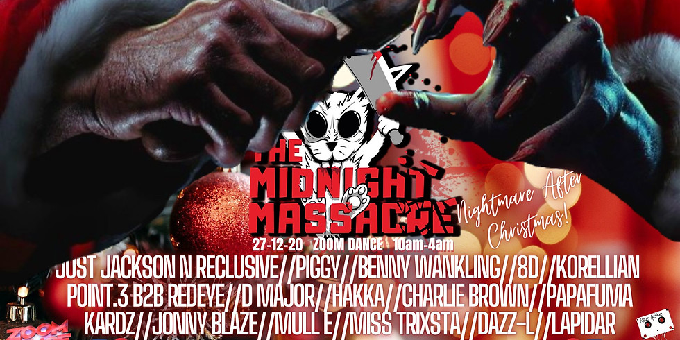 The Midnight Massacre Christmas Zoom Party!