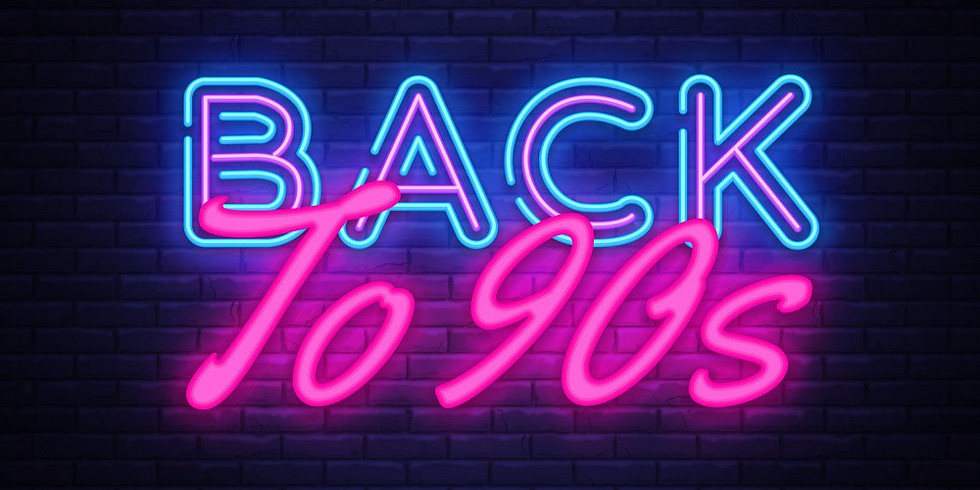 Back to the 90s. Zoom Dance. The online Night Club. Lockdown Pt 4. £1 donated to we are viable for every ticket sold.