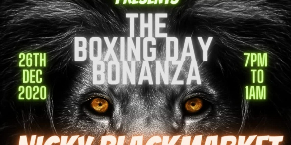 Nicky Blackmarket Boxing day Special! Zoom Dance. The online Rave.