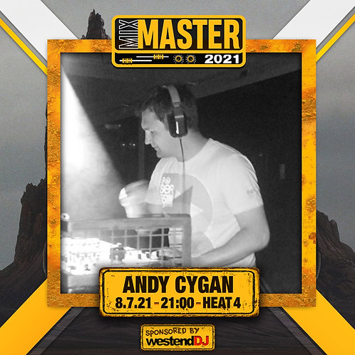 Heat 4 Vote for ANDY CYGAN to progress to the Mix Master 2021 2nd round