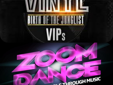 Free Event:Zoom Dance & Vinyl VIP's presents Birth of the Junglist live on Zoom This Friday 3rd July