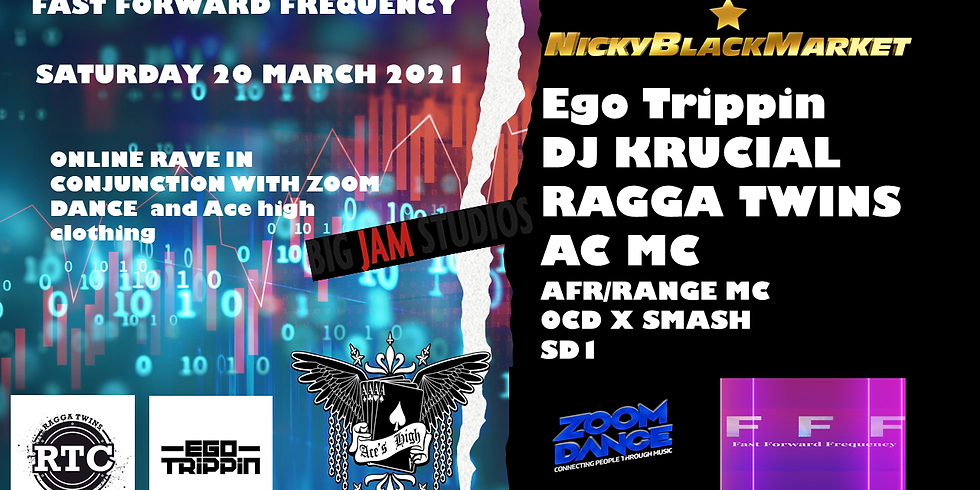 Zoom Dance and Fast Forward Frequency. The Online Rave!! DnB Special!!