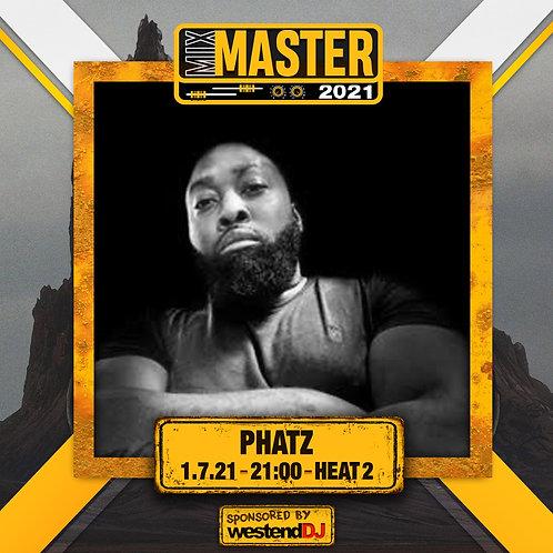 Heat 2 Vote for PHATZ to progress to the Mix Master 2021 2nd round