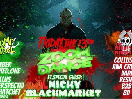 Friday 13th November, Whomp Central and Midnight Massacre Takeover! Free Rave.