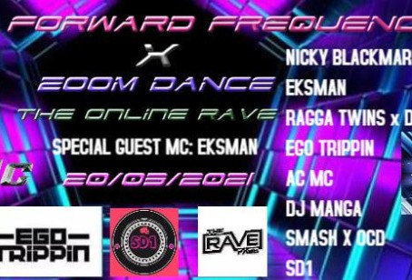 Zoom Dance and Forward Frequency 20th March DnB Night