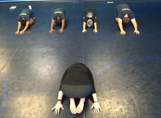 Yoga allows Norfolk police some flexibility in training