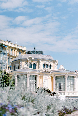 Salons de la Rotonde - Beaulieu sur Mer - Provence - Côte d'Azur - Photographe de Mariage - Virginie