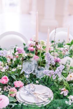 Table de mariage - Photographe mariage fine art - Virginie Templier - Provence - Sud de France