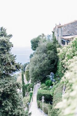 Jardins Chateau de la Chèvre d'or - Eze Village - Photographe de mariage Provence - Virginie Templie
