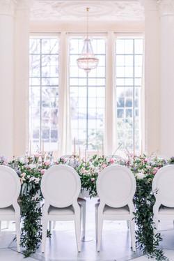 Table de mariage - Mariage Salons de la Rotonde - Couple de mariés - Virginie templier - Fine art we