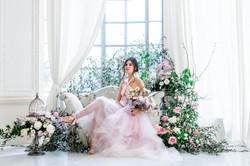 Mariage Salons de la Rotonde - Mariée - Virginie templier - Fine art wedding