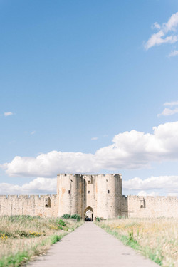Remparts d'Aigues Mortes - Occitanie - Photographe de Mariage Fine Art - Provence, Occitanie, Sud de