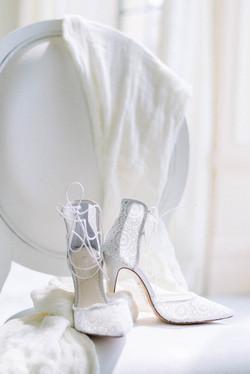 Chaussures de mariage - Photographe de mariage Fine Art - Provence - Sud de France - Virginie Templi