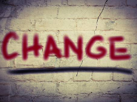 The only thing that doesn't change in business is......