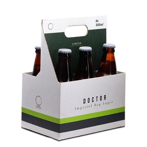 Kit com 6 Doctor 300ml | Imperial Hop Lager | 7,9% ABV - 24 IBU