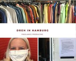 Studio Dreh in Hamburg