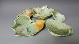 Leaf Platters, student's work
