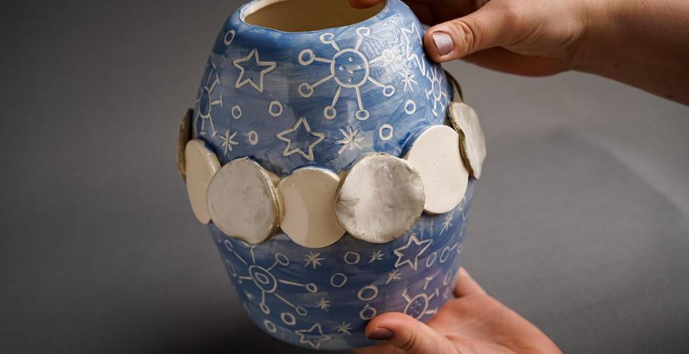 Lockdown Vases Irish Ceramics made durin
