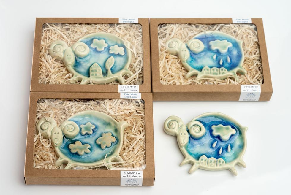ceramic sheep irish gift the mood design