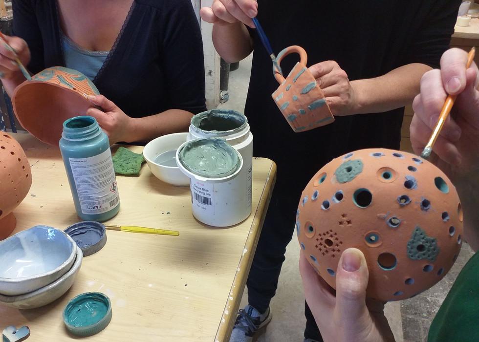 ceramic workshops the mood designs class
