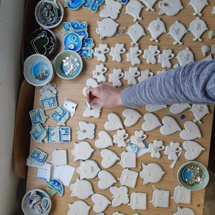 The Mood Designs irish ceramics sea rang