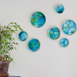 wall plates ceramics interiour designs w
