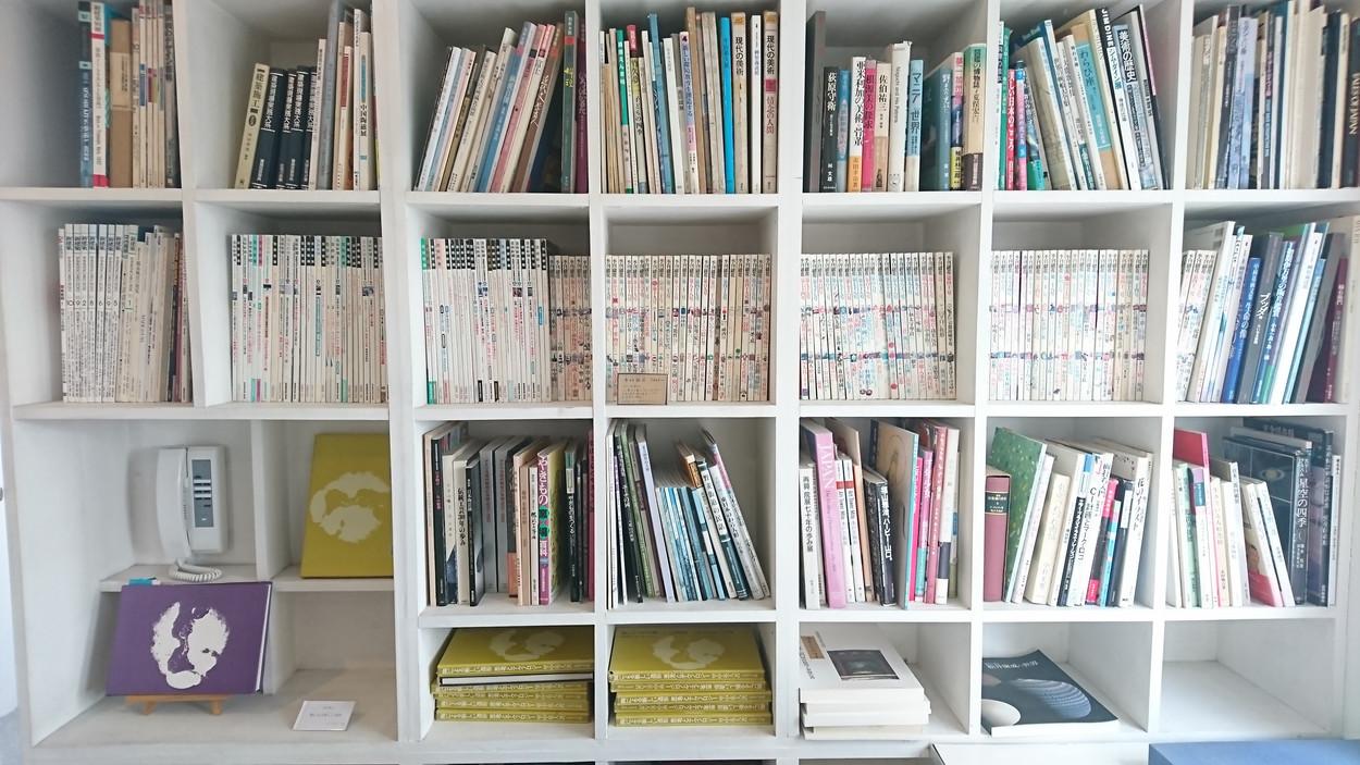 アートや建築関連の古書たち