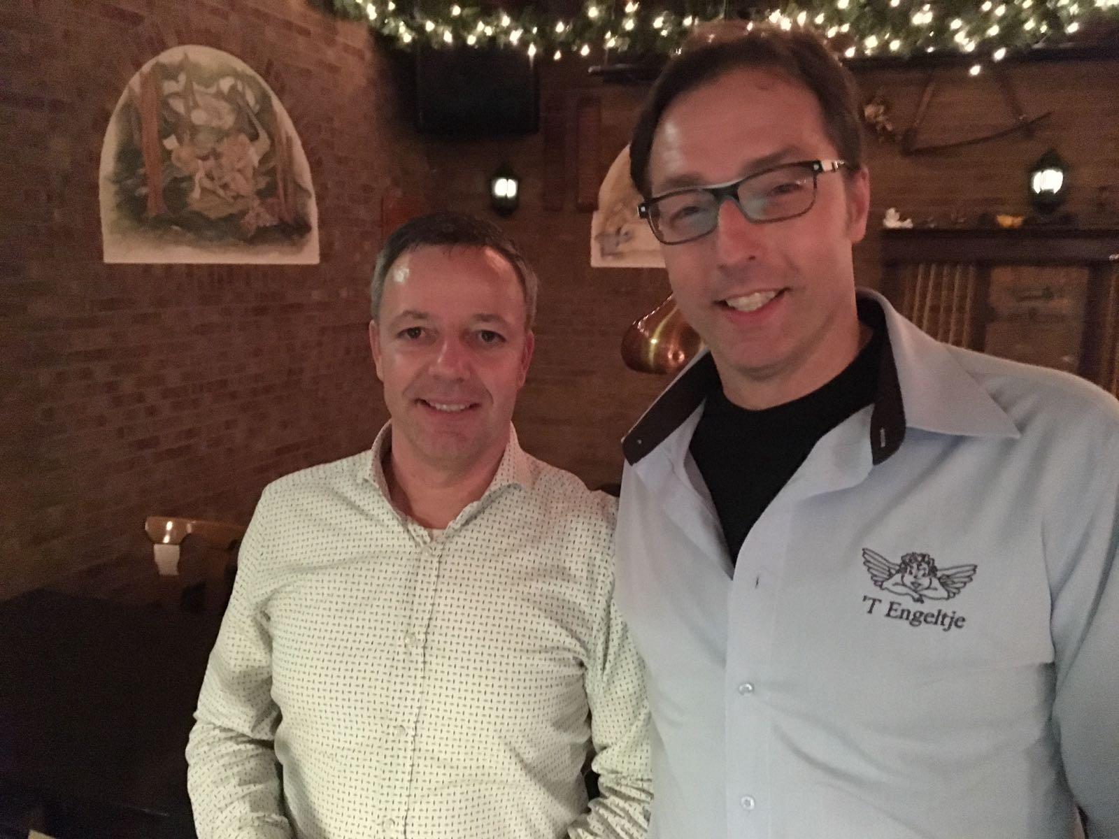 Carlo met Dick Jaspers