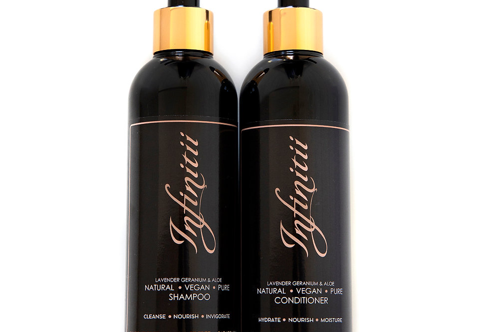 Sulphate Free Natural Shampoo + Conditioner Duo