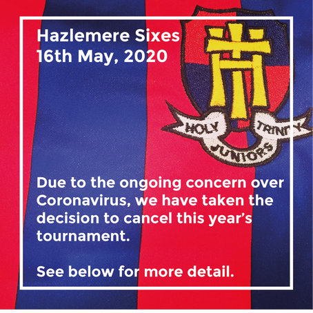 Hazlemere Sixes is cancelled for 2020