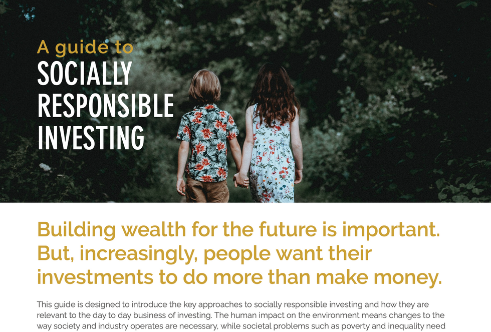A Guide to Socially Responsible Investing