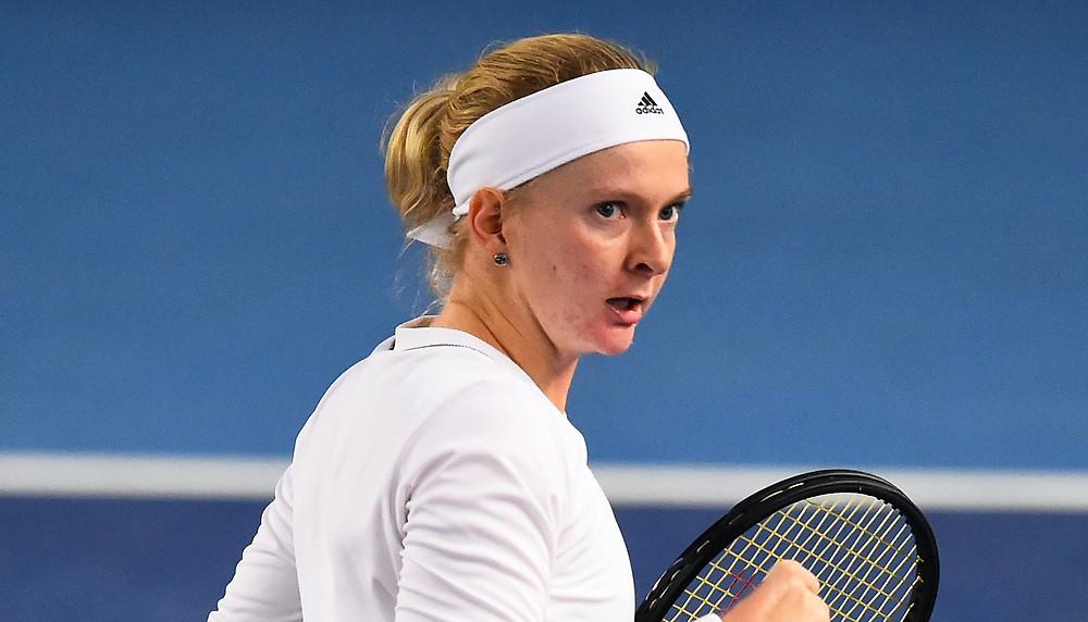 The tennis player Francesca Jones