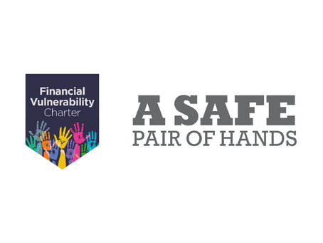We've signed up to the Financial Vulnerability Taskforce