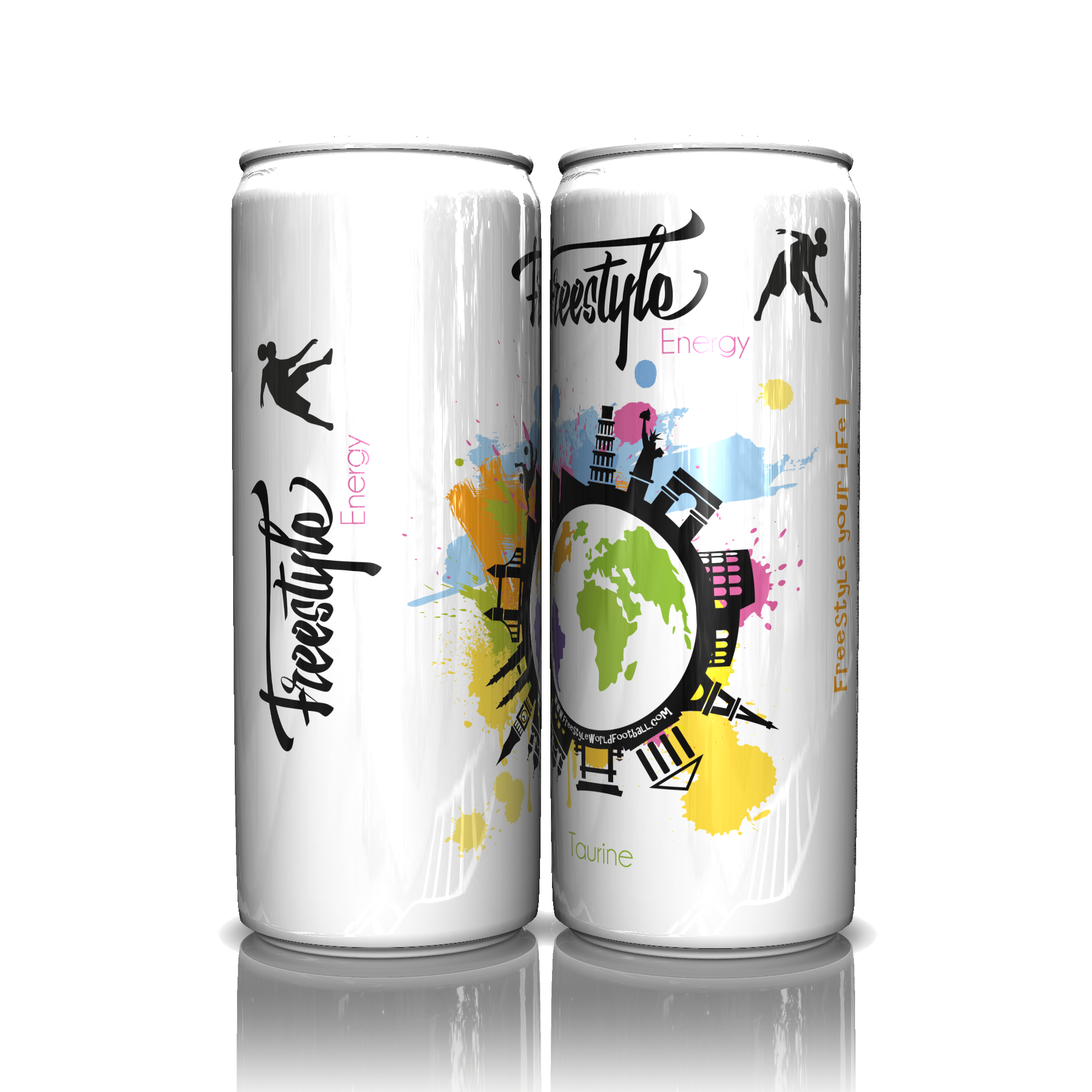 Freestyle Energy - Twin Cans
