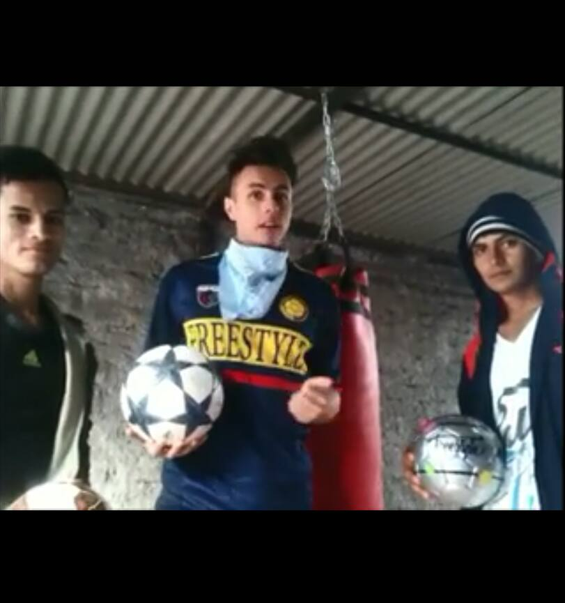 Chileans Freestylers with EnergyBall