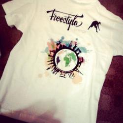 Freestyle Energy - White Tshirt