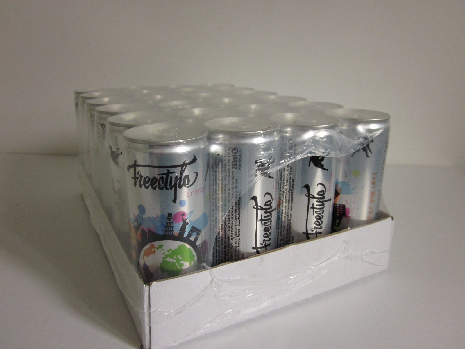 Freestyle Energy - Pack of 24 cans