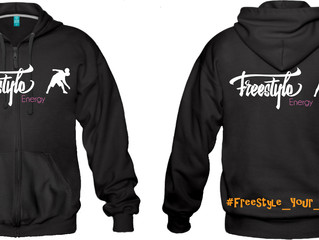 New : Black Hoodie from Freestyle Energy