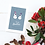 Snowman Design Two Gay Aunties Christmas Card