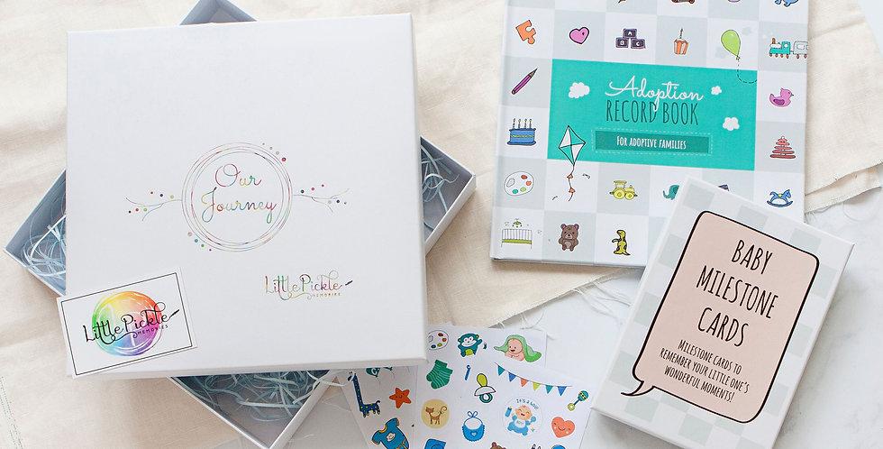 Baby Adoption Gift Set for Newly Adoptive Parents