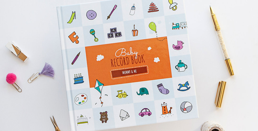 Mummy and Me Baby Memory Book