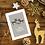 To my Mom and my Stepdad Christmas Card Reindeer Design