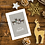 To my Parents Reindeer Christmas Card Design
