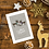 To my Mum and Stepdad Reindeer Christmas Card Design