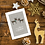To my Son and his Gay Partner Reindeer Christmas Card Design