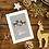 To my 2 Moms Reindeer Christmas Card Design