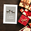 Reindeer Design Brother and Partner Christmas Card