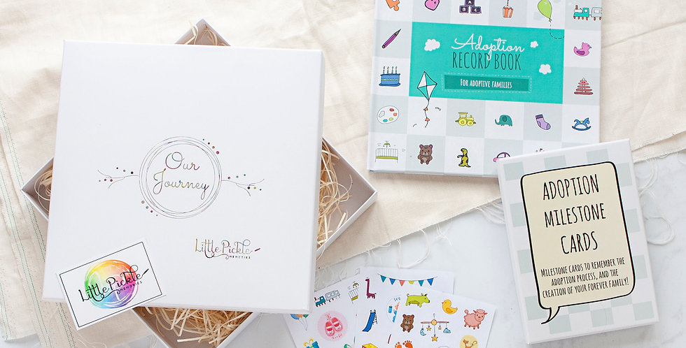 Adoption Gift Set for New Adoptive Parents